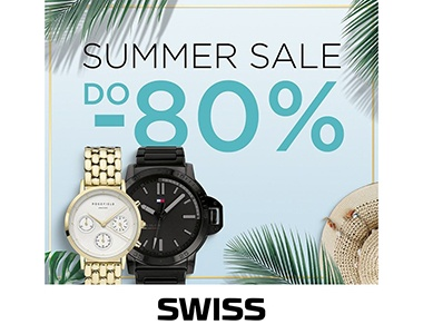 SUMMER SALE w butikach SWISS!